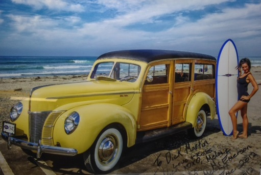 1940 Ford Woody 4 Door