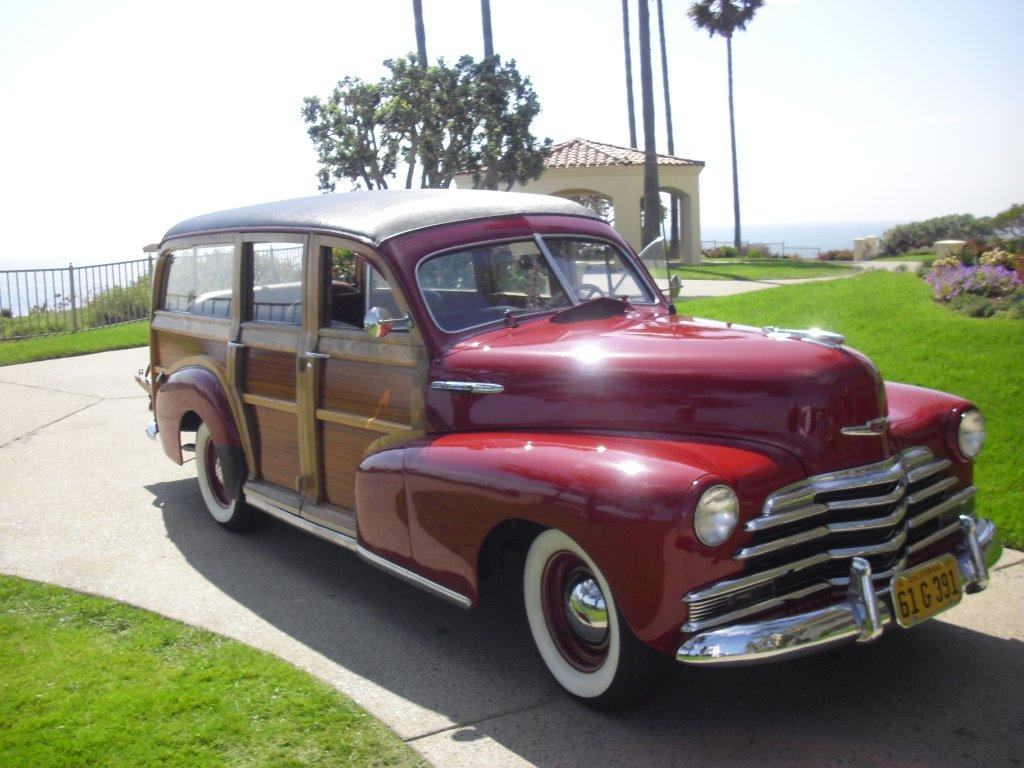 1947 Chevy Fleet Master Woody