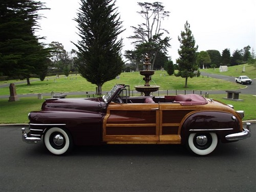 1947 Chrysler T & C Woody Convertible