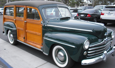 1948 Ford Stock Woody 4 Door
