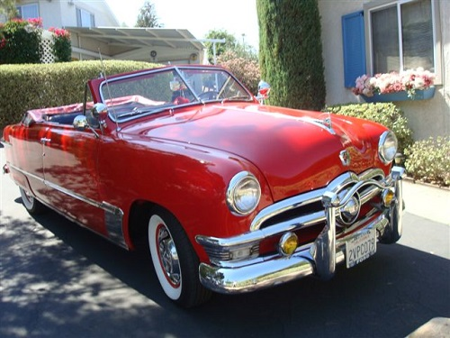 1950 Ford Stock Convertible