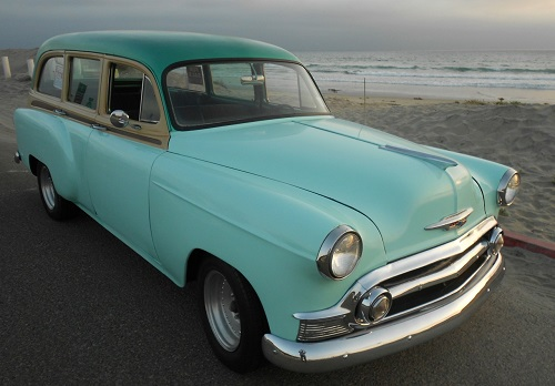 1953 Chevy Woody Restro 4 Door