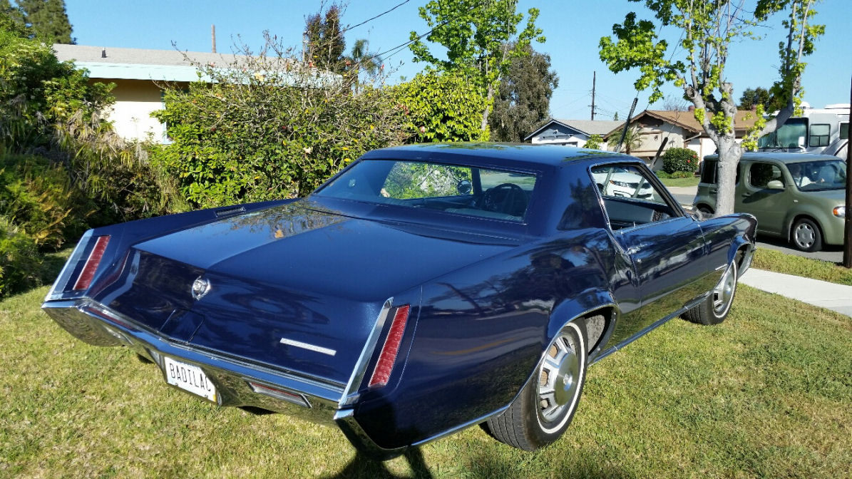 1967 Cadillac Eldorado Rear View