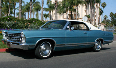 1967 Ford LTD 2 Door Hardtop