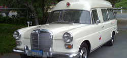 1967 Mercedes 230 Ambulance