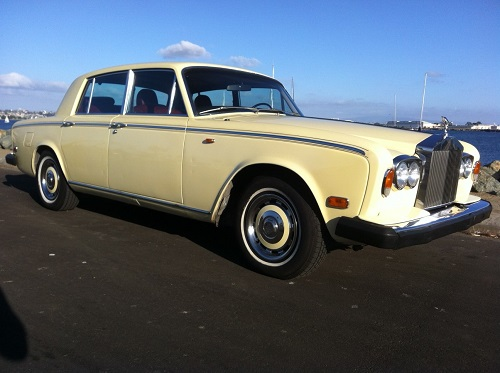 1974 Rolls Silver Shadow 4 Door