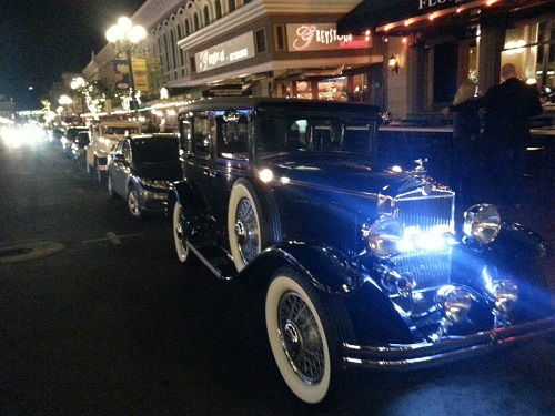 1929 Durant 4 Door At The Gaslamp