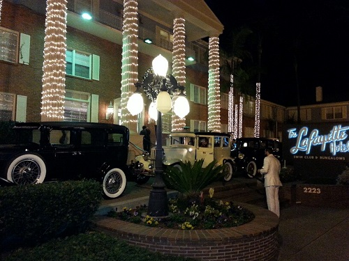 1929 Durants At The Lafayette Hotel