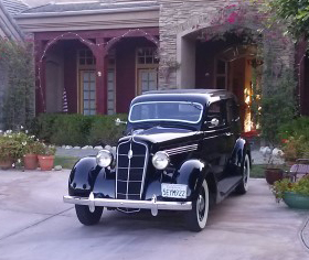 1935 Plymouth 100% Stock 4 Door