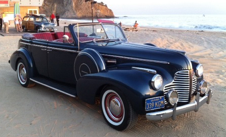 1940 Buick Limited Convertible 4 Door With Suicide Doors