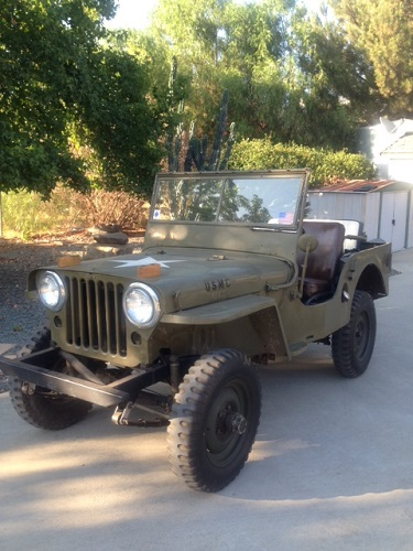 1945 World War II Jeep (Stock)