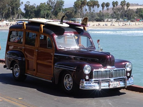 1946 Mercury Woody 4 Door