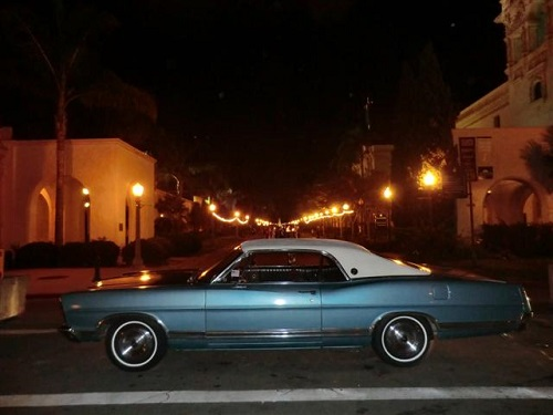 1967 Ford LTD Hardtop At Balboa Park